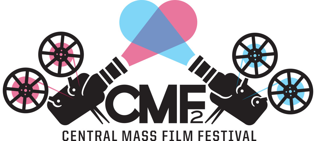 Photograph of CMF2 logo in color.