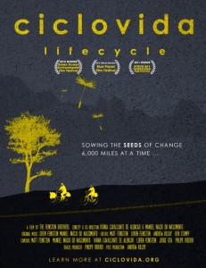 cover artwork for Ciclovida film.