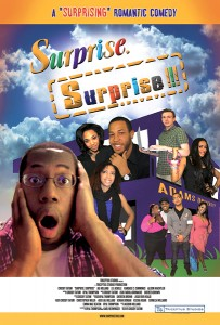 photograph of cover art work for Surprise Surprise film.